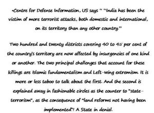Terro Victims in India
