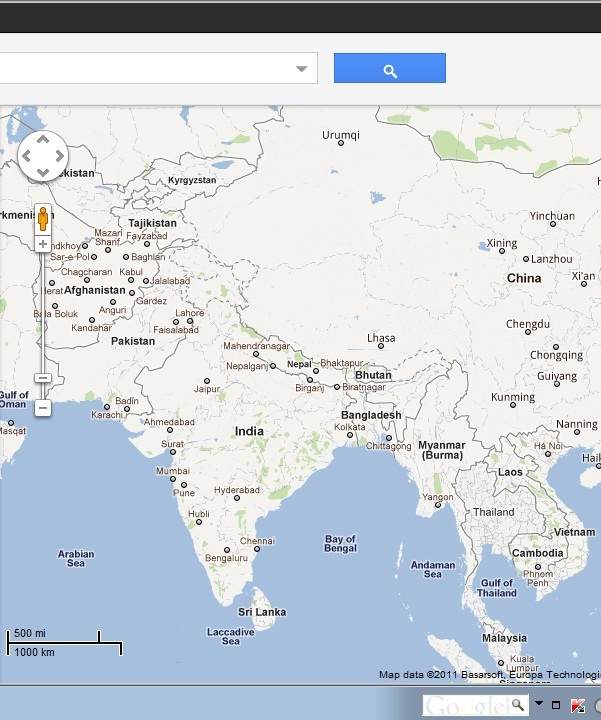 Google mis represents india on google maps arise bharat advertisements gumiabroncs Gallery