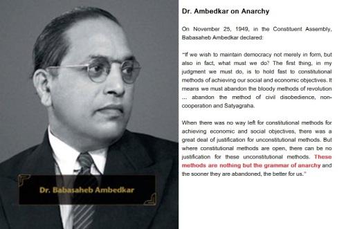 Dr.Ambedkar on Anarchy