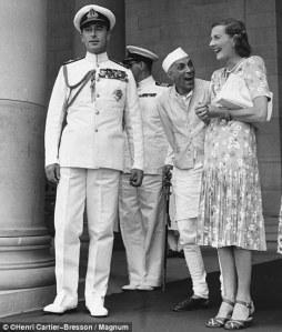 Nehru Mountabatten