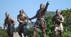 Lachit leading his troops