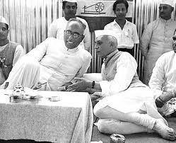 Sheikh Abdullah and Nehru 2