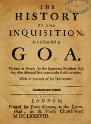 History of Goa inquisition