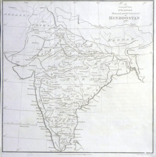 rennells-map-of-india