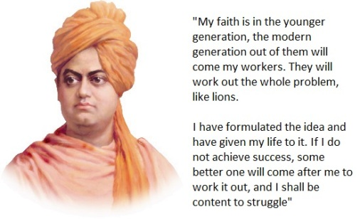 Vivekananda - Faith on Youth