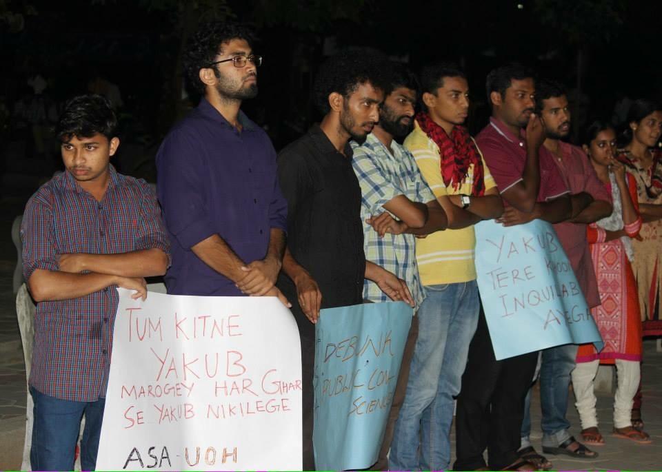 Image result for Ambedkar Periyar students support Yakub memon