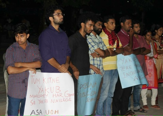 Image result for Ambedkar Periyar students support Yakub memon