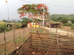 Another village group arrives